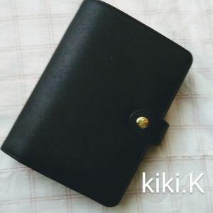kikki.K - Black Refillable Diary Planner